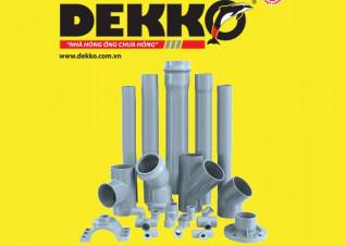 Ống và phụ kiện u.PVC DEKKO
