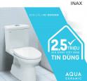 BÀN CẦU INAX AC/C-504VAN CHẠM MỐC 2,5 TRIỆU SẢN PHẨM BÁN RA